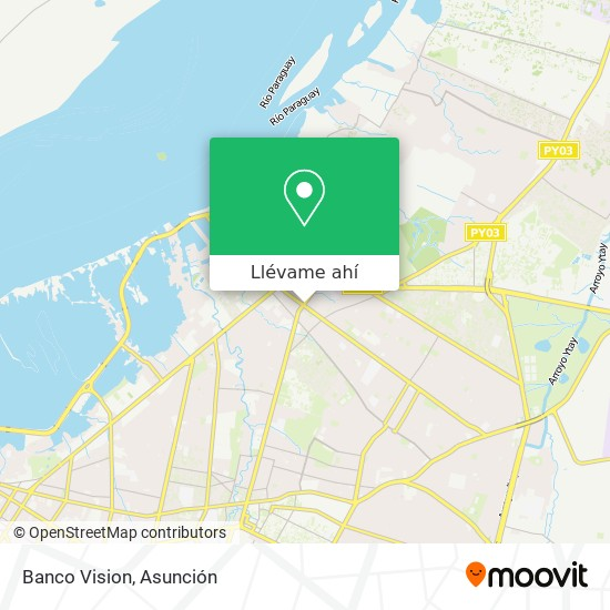 Mapa de Banco Vision