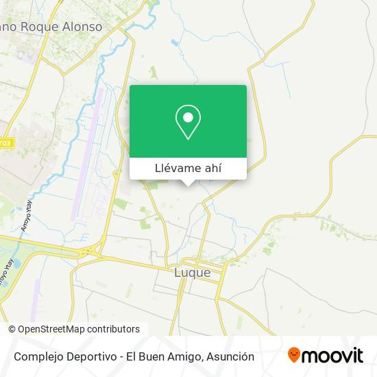 Mapa de Complejo Deportivo - El Buen Amigo