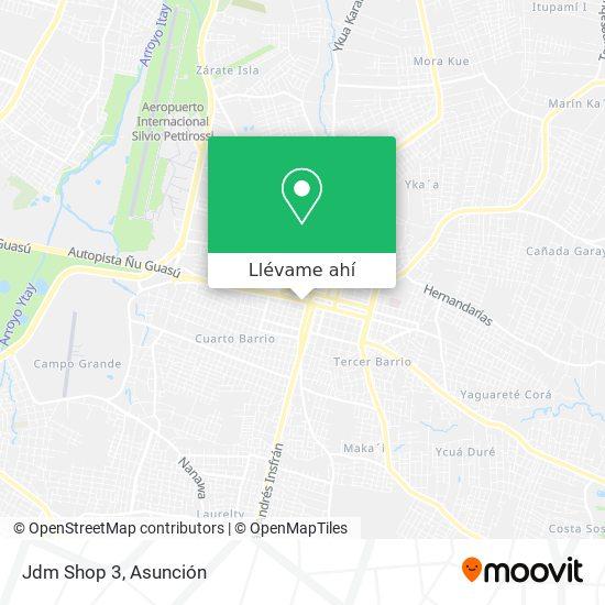 Mapa de Jdm Shop 3