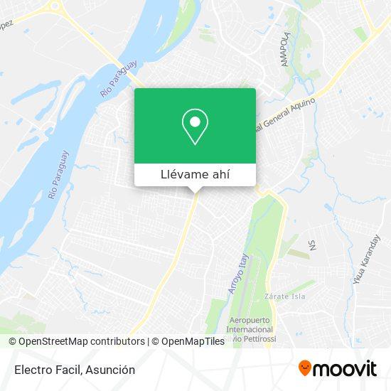 Mapa de Electro Facil