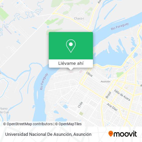 Mapa de Universidad Nacional De Asunción