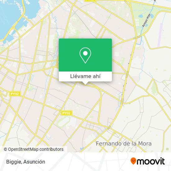 Mapa de Biggie