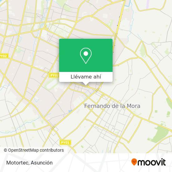 Mapa de Motortec
