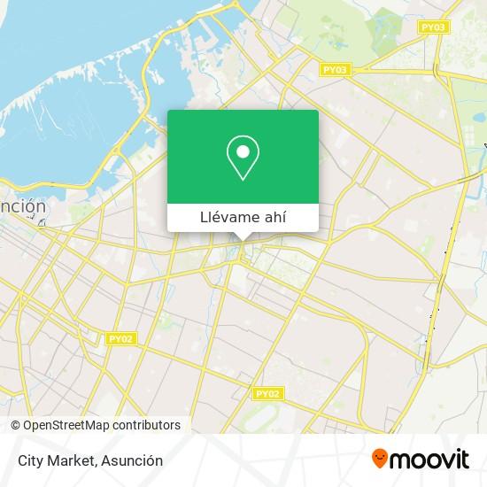 Mapa de Citymarket