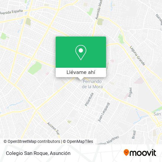 Mapa de Colegio San Roque