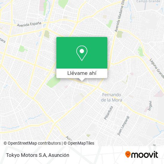 Mapa de Tokyo Motors S.A