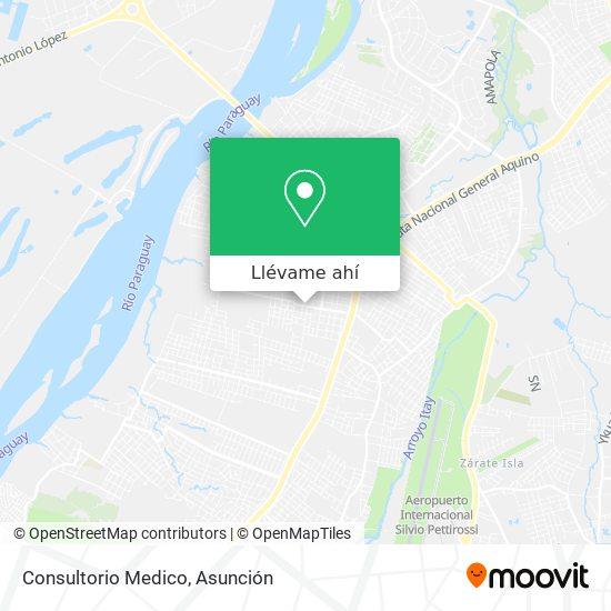 Mapa de Consultorio Medico
