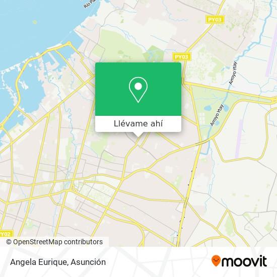 Mapa de Angela Eurique