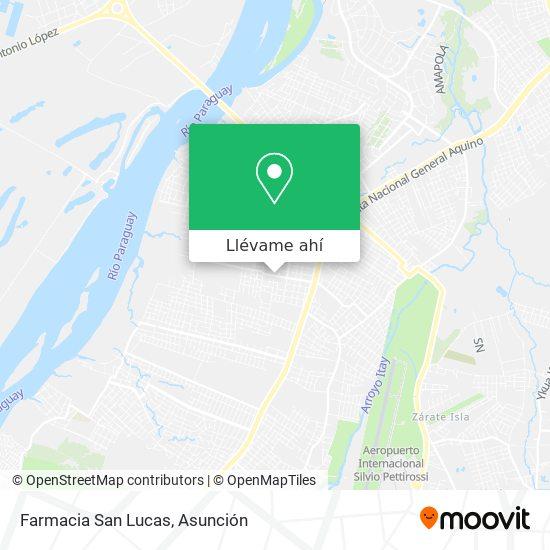 Mapa de Farmacia San Lucas