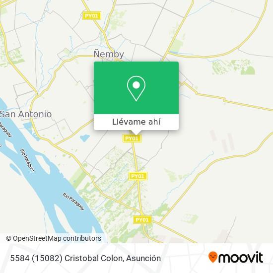 Mapa de 5584 (15082) Cristobal Colon
