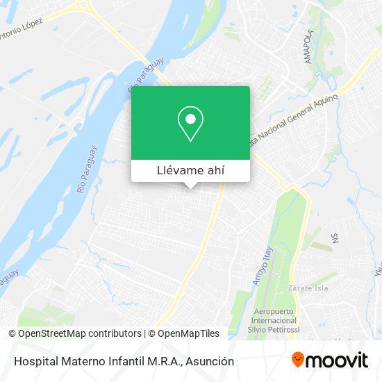 Mapa de Hospital Materno Infantil M.R.A.