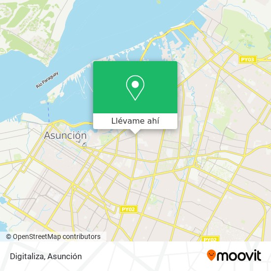 Mapa de Digitaliza