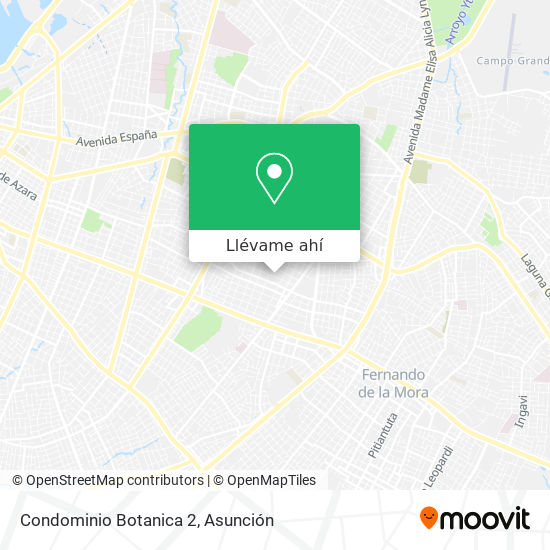 Mapa de Condominio Botanica 2