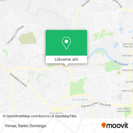 Mapa de Vimax