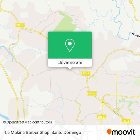Mapa de La Makina Barber Shop