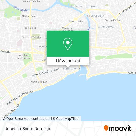 Mapa de Joseefina