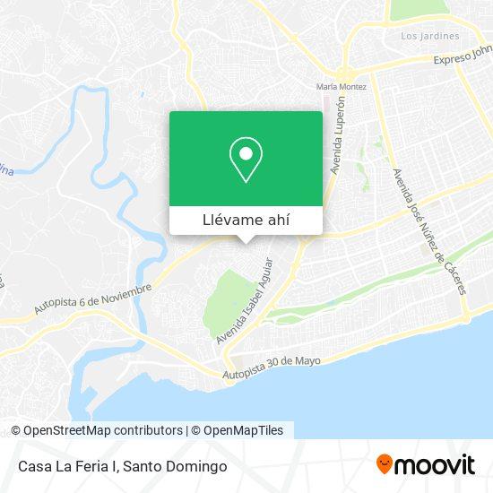 Mapa de Casa La Feria I
