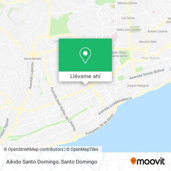 Mapa de Aikido Santo Domingo