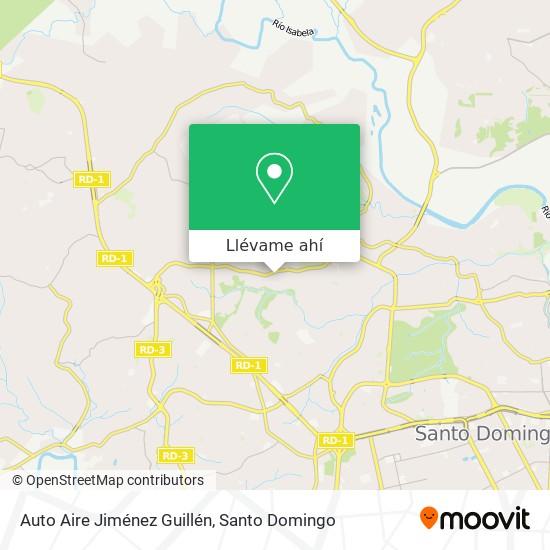 Mapa de Auto Aire Jiménez Guillén