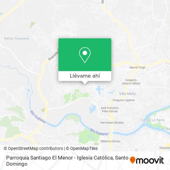 Mapa de Parroquia Santiago El Menor - Iglesia Católica