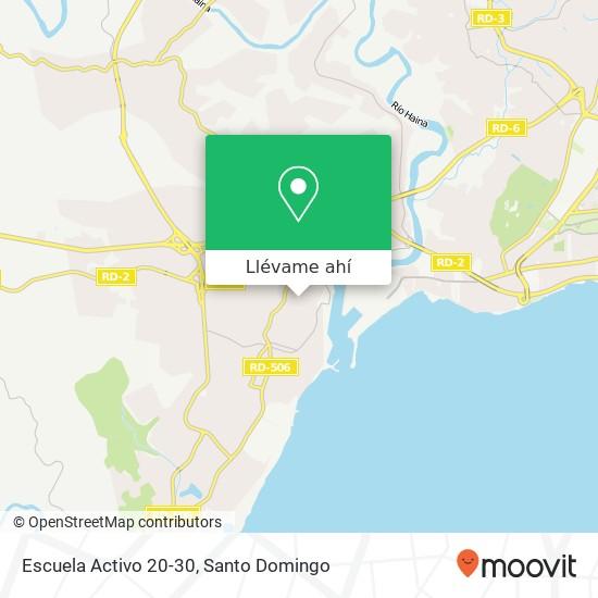 Mapa de Escuela Activo 20-30