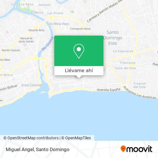 Mapa de Miguel Angel