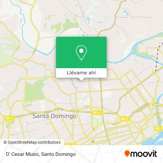 Mapa de D' Cesar Music