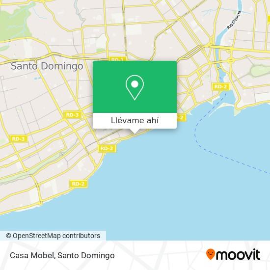 Mapa de Casa Mobel