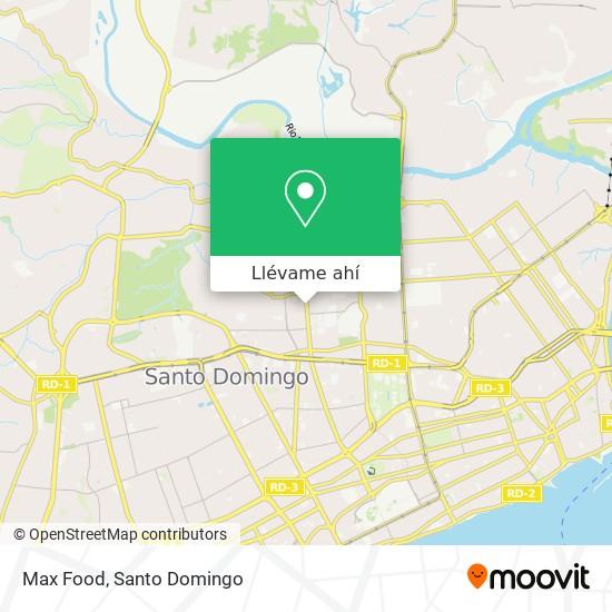 Mapa de Max Food