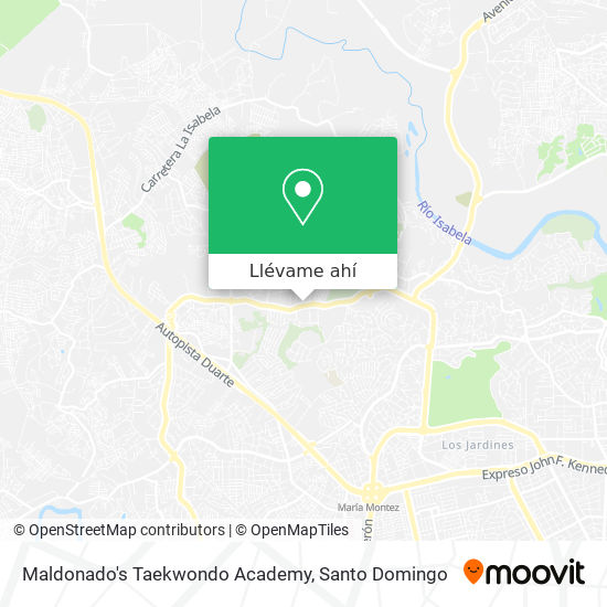 Mapa de Maldonado's Taekwondo Academy
