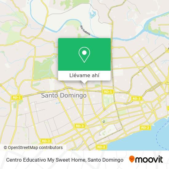 Mapa de Centro Educativo My Sweet Home