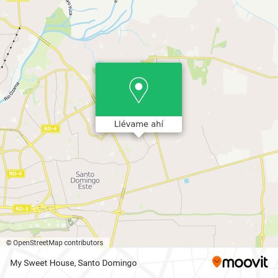 Mapa de My Sweet House