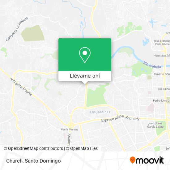 Mapa de Church