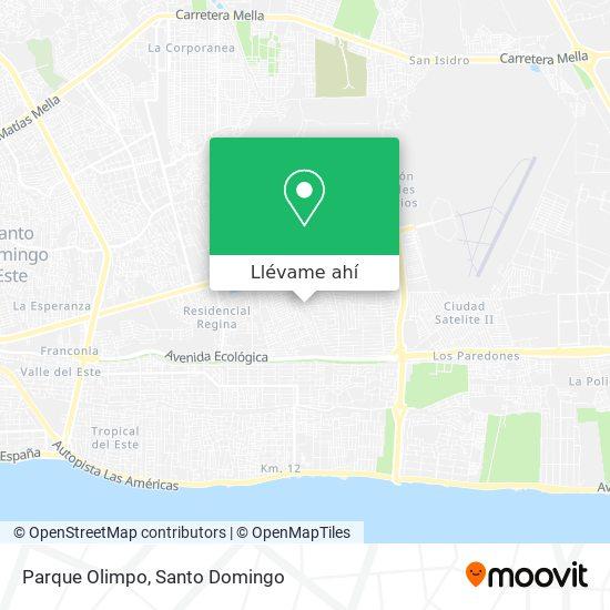 Mapa de Parque Olimpo