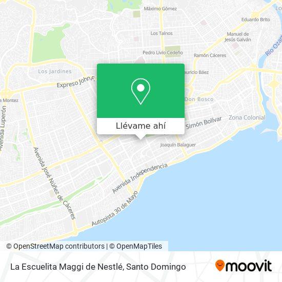 Mapa de La Escuelita Maggi de Nestlé