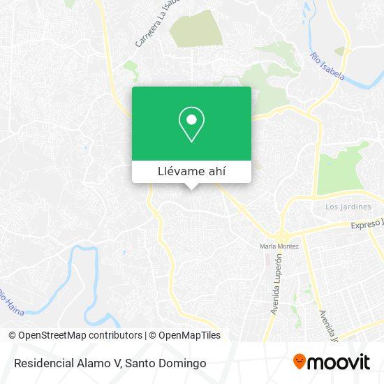 Mapa de Residencial Alamo V