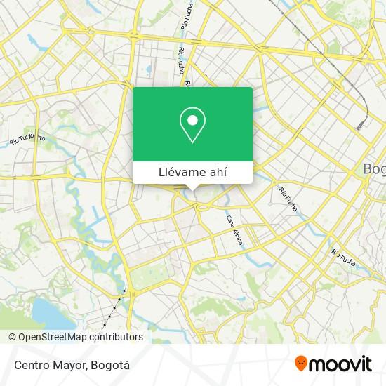 Mapa de Centro Mayor