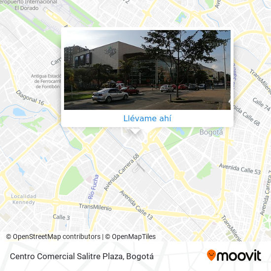Mapa de Centro Comercial Salitre Plaza