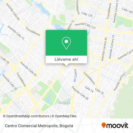 Mapa de Centro Comercial Metropolis