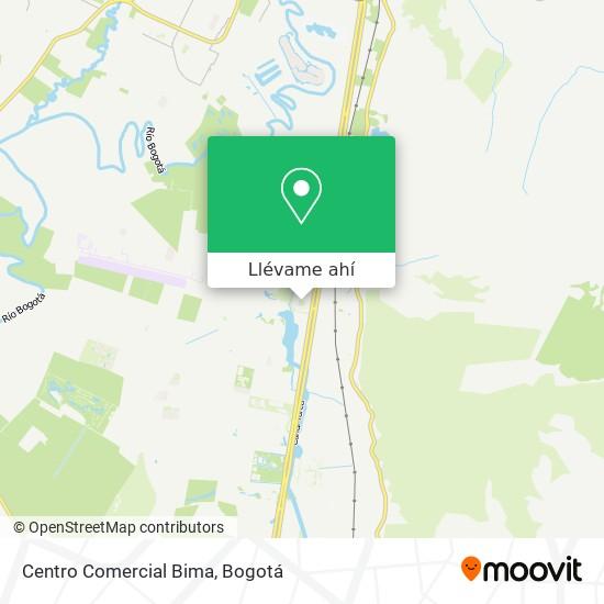 Mapa de Centro Comercial Bima