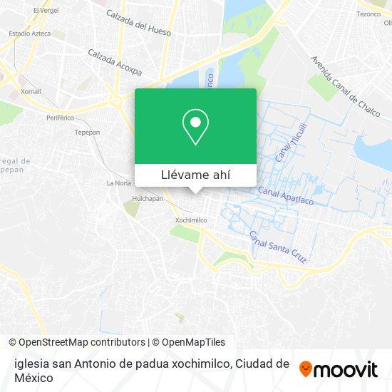 Como Llegar A Iglesia San Antonio De Padua Xochimilco En Coyoacan En Autobus O Tren Moovit