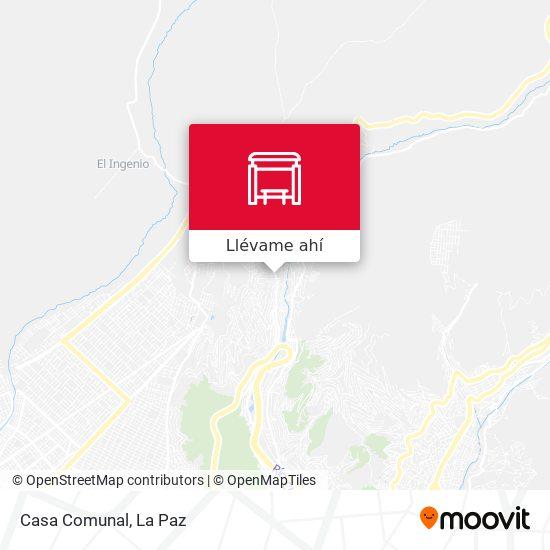 Mapa de Casa Comunal