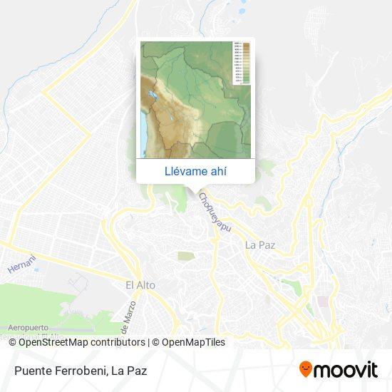 Mapa de Puente Ferrobeni