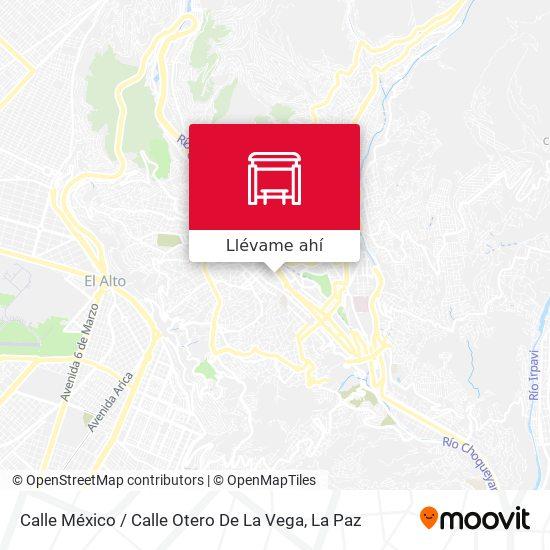 Mapa de Calle México / Calle Otero De La Vega