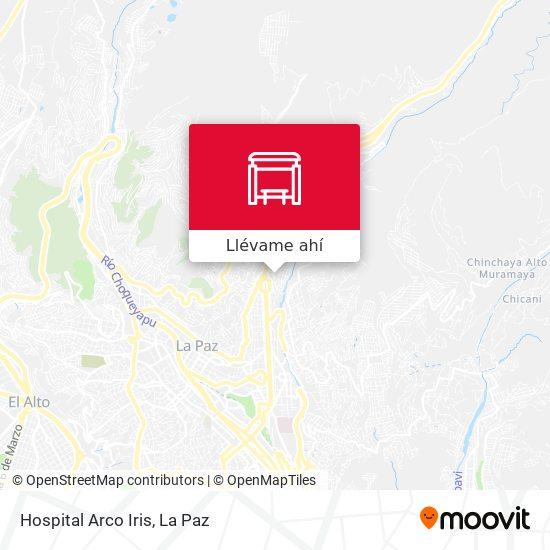 Mapa de Hospital Arco Iris