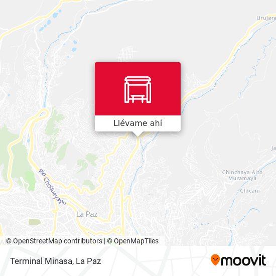 Mapa de Terminal Minasa