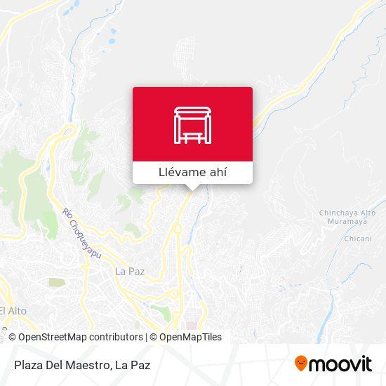 Mapa de Plaza Del Maestro