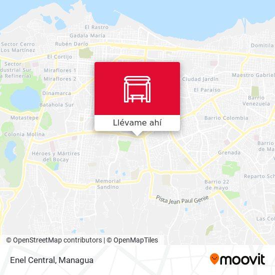 Mapa de Enel Central
