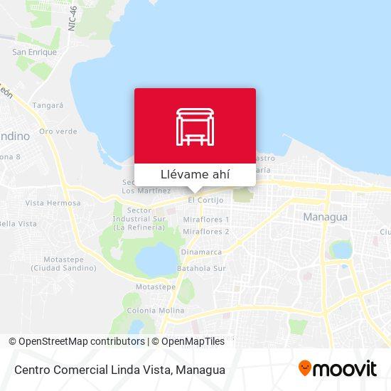Mapa de Centro Comercial Linda Vista
