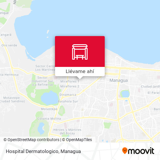 Mapa de Hospital Dermatologico
